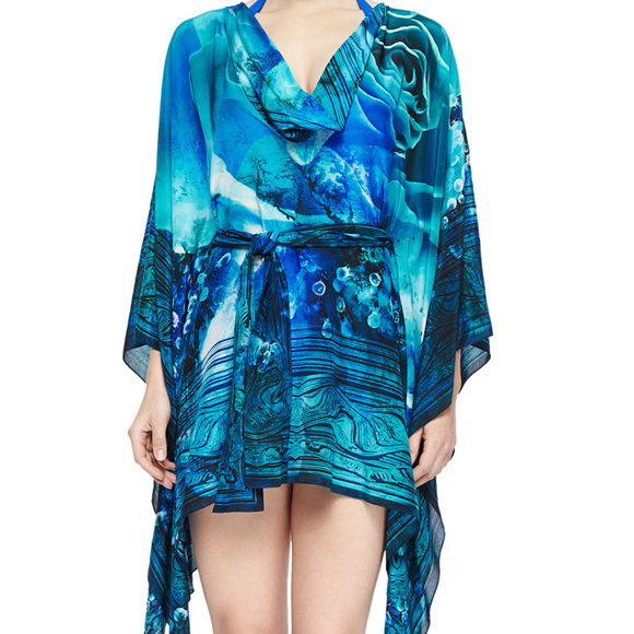 d8d468395c GOTTEX Swim | 100 Silk Kaftan Wear Cover Up Nwt | Poshmark